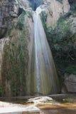 Cascades de Petra Boeotia Greece photographie stock