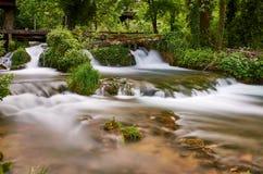 Cascades de Rastoke, Croatie Photographie stock libre de droits
