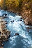 Cascades de Rufabgo Images libres de droits