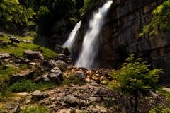 Cascades de Souda Images stock