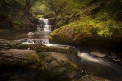 Cascades de Sychryd Photographie stock