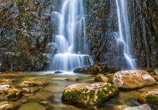Cascades des Herisson Royalty Free Stock Photo