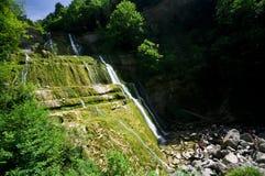 Cascades du Herisson Fotografía de archivo