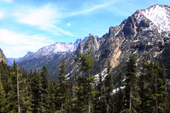 Cascades du nord Photos libres de droits