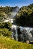 Cascades du ` s de Marmore Image libre de droits
