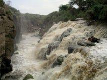 Cascades en Ethiopie Images stock