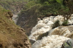 Cascades en Ethiopie Photographie stock