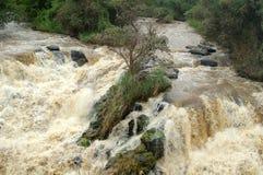 Cascades en Ethiopie Images libres de droits