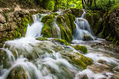 Cascades en nature Photos stock
