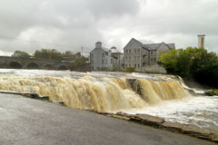 Cascades of Ennistymon Stock Photos