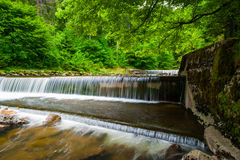 Cascades of Gorges de l'Areuse Royalty Free Stock Image