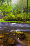 Cascades on the Gunpowder River near Prettyboy Reservoir in Balt. Imore County, Maryland Royalty Free Stock Images
