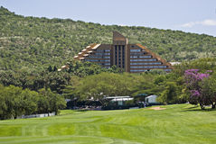 The Cascades Hotel at Sun City. The Cascades Hotel, a 5 star Hotel, at the Sun City Resort in the North West Province of South Africa Stock Photos