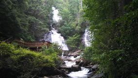 Anna Ruby Falls, Georgia royalty free stock images