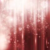 Cascades of light with stars Stock Photos