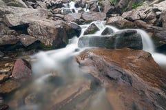 Cascades of Mountain River Royalty Free Stock Photo