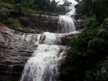 Cascades naturelles du Kerala Photographie stock libre de droits