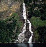 Cascades, Norvège Images libres de droits