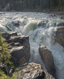 Cascades par le canyon Images stock