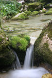 Cascades of Soca river Stock Photos