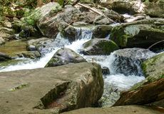 Cascades at South Mountains State Park stock image