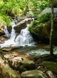 Cascades at South Mountains State Park royalty free stock image