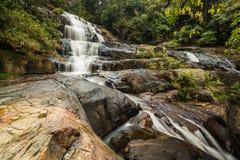Cascades Sri Lanka de Bromburu Image stock