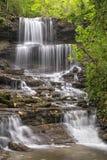 Cascades tranquilles Photos libres de droits