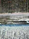 Cascades van Water Stock Afbeeldingen