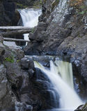 Cascades Waterfalls Close Up Royalty Free Stock Photography