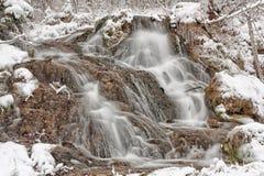 Cascades of Winter Royalty Free Stock Photos