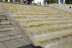 Cascadestappen, Bristol-haven, Engeland Royalty-vrije Stock Afbeelding