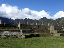 Cascadetuinen in Machu Picchu Royalty-vrije Stock Foto