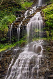 Cascading Cathedral Falls Royalty Free Stock Photos