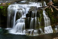 Cascading Falls Stock Images