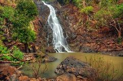 Free Cascading Jungle Waterfall Royalty Free Stock Photo - 22810735