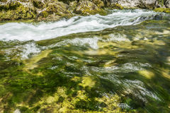 Cascading mountain stream Stock Image