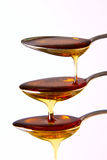 Cascading Syrup Stock Photo