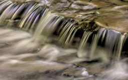 Cascading Water Abstract Royalty Free Stock Photos