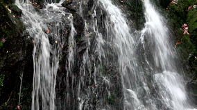 Cascading water waterfall Stock Photo
