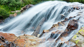 Cascading Waterfall Royalty Free Stock Images