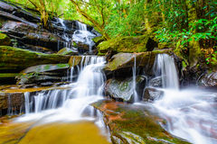 Cascading waterfall in Australia Royalty Free Stock Photography