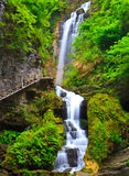 Cascading Waterfall, Dragon Gorge, China Royalty Free Stock Photography