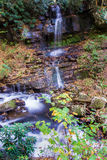 The Cascading Waterfall, Giles County, Virginia, USA Stock Images