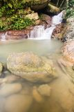 Cascading waterfall in Penang, Malaysia Stock Photography