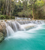 Cascading waterfalls Skradinski Buk. Krka National Park, Croatia. Royalty Free Stock Images