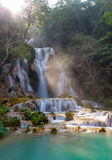 Cascading waterfalls Skradinski Buk. Krka National Park, Croatia. Royalty Free Stock Photo