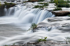 Cascading West Virginia Waterfall Royalty Free Stock Photos