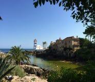 Cascais - городок морского курорта в Португалии стоковая фотография rf
