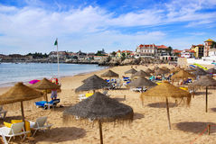 Cascais Beach Stock Image